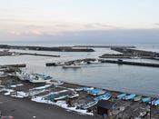 【下風呂港】新鮮な魚介が水揚げされます