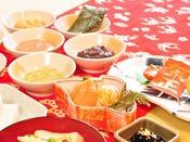 【年末年始特別お膳】お餅は7種類のお味で