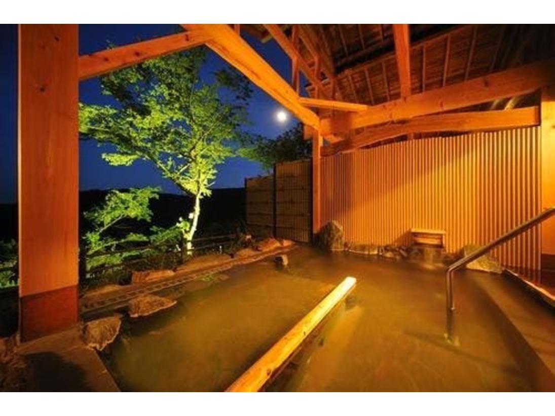 流辿露天風呂「陽光の湯」