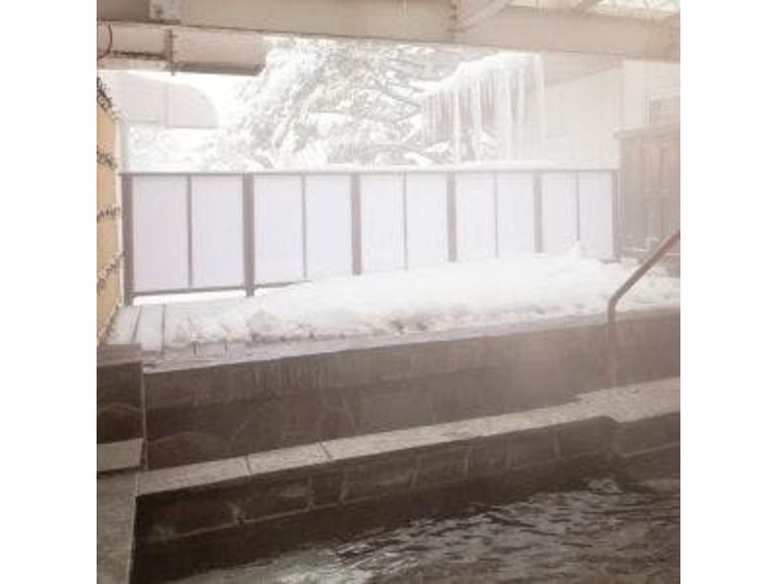 おいしい空気と露天風呂。男女入れ替え制でお楽しみ頂けます!