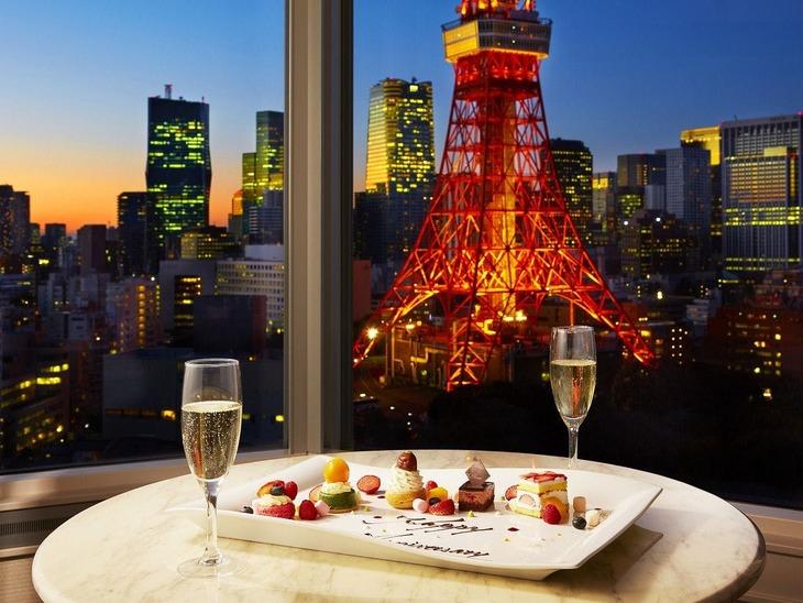 【Tポイント1%】【おふたりの特別な記念日に】東京タワー側確約 Tokyo Anniversary