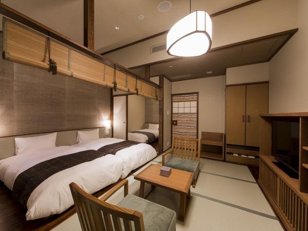 檜内風呂付・和洋室 36平米/3名定員