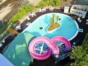 夏季限定(7月中旬~8月下旬)オープン!屋外プール