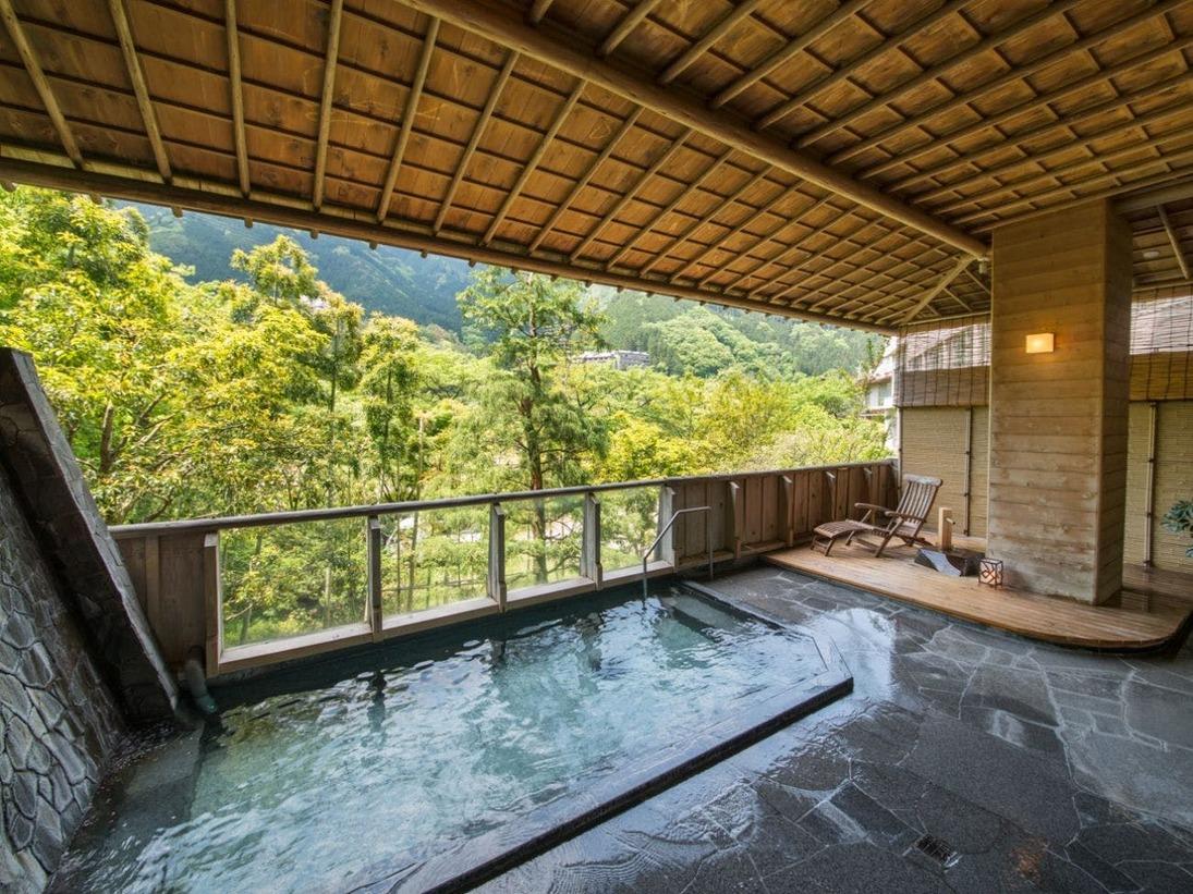 【露天風呂】美肌の湯の下呂温泉を満喫