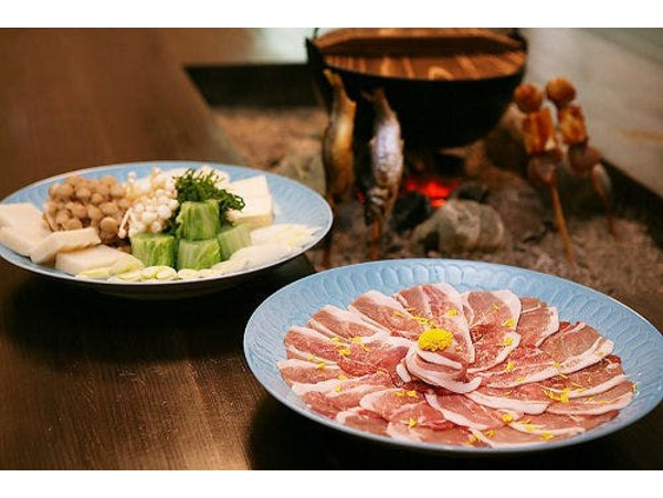 料理長特製味噌仕立ての牡丹鍋