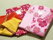 四季彩:お好みで選べる色浴衣♪