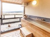 紅梅・牡丹・菖蒲:檜風呂