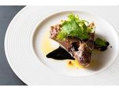 2019冬 カジュアル杜コースメイン 魚料理