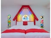 お部屋のコンセプトはスヌーピーのお家
