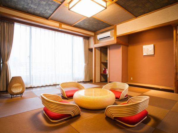 和室10畳・アジアンテイスト客室