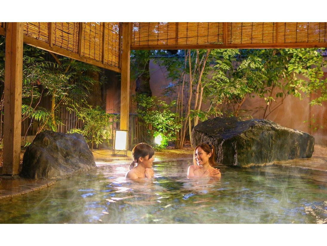 イメージ-庭園風呂-露天風呂