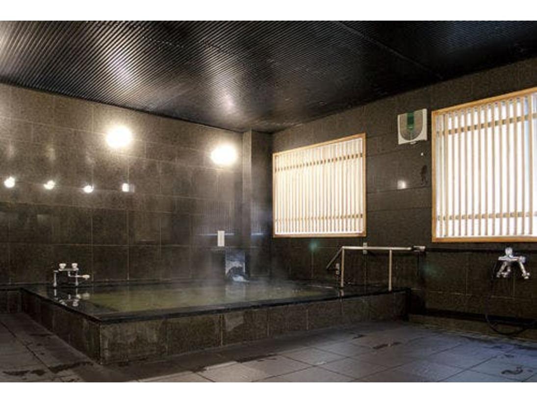 大浴場・上高地の天然水を使用