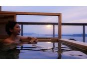 あなただけの専有露天風呂とテラスを有する特別客室「別邸 蒼空<離れ>」2012年8月グランドオープン
