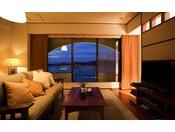 【スイート711号(60平米)】女性好みの高級感と落ち着きを兼ね備えたハリウッドスタイルのお部屋