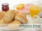 ヨーロッパより直輸入したヨーロピアンブレッドをご用意しております。