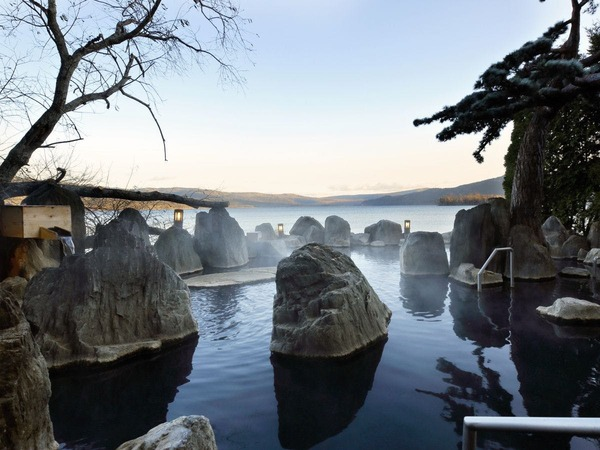 ◆庭園露天風呂「鹿泉の湯」