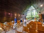 敷地内に隣接する箱根の森高原教会