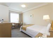 【エグゼクティブダブル】ベッド幅140cm×1台/19平米/より快適さを追求したお部屋。