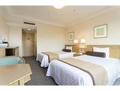 【エグゼクティブツイン】ベッド幅120cm×3台/24平米/より快適さを追求したお部屋。