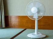【貸出品(無料)】扇風機。数に限りがあります。