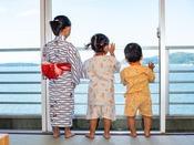 【お子様浴衣&甚平】お子様サイズの浴衣と甚平もご用意しております。