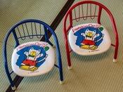 【貸出品(無料)】子供椅子。数に限りがあります。