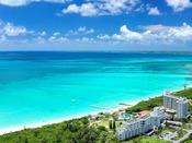 【全景】目の前に広がるこの美しい海が、訪れる人々の心を癒してくれます