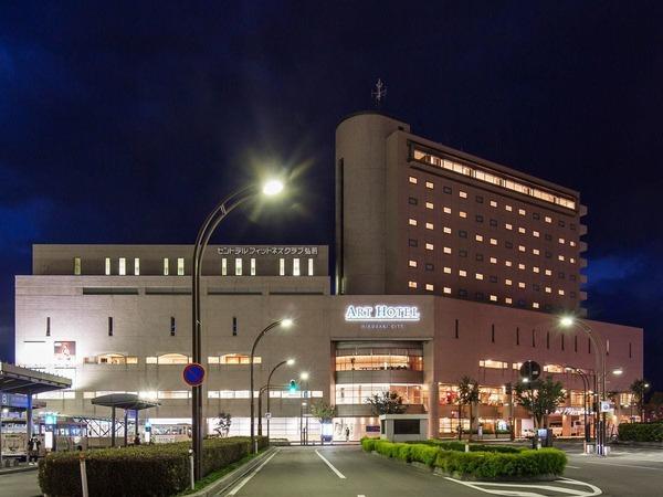 アートホテル弘前シティ/外観(夜)