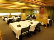 ■八之助茶屋■椅子、テーブルにて召し上がりいただくお食事会場。