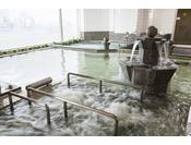 泉質:ナトリウム-塩化物泉(等張性弱アルカリ性低温泉)(旧泉質名:食塩泉)