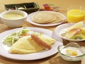 【お子様食/朝食】目覚めは、みんな大好きふわふわオムレツで1日元気★