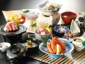 【延対寺荘ハイグレードプラン】四季華やぎ会席:富山湾で水揚げされた厳選魚介をご堪能頂けます