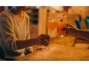 グラスを片手に語り合う...そんなゆったりとした時間をお過ごしください。■バー・ムーンシェル(カフェテラス)<営業時間> 10:00~24:00(ラストオーダー23:30)