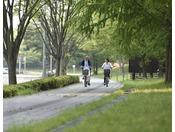 電動アシスト付きの自転車です。貸出価格| お一人様|3時間 1,000円(消費税・保険料含む)※延長は更に3時間ごと 1,000円※台数に限りがございますので、予めご了承ください。