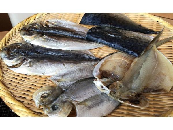 ダイニング【海】朝食 の干物は3種類から