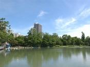 札幌市のグリーンゾーン中島公園から徒歩2分!
