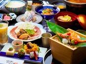 ~銘柄豚すき焼きのお手軽和膳~ 銘柄豚の料理をメインにお造りなど海鮮をそえて
