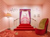 「プリンセスキティー」をモチーフにしたフォトスポットが2階のロビーに新登場♪