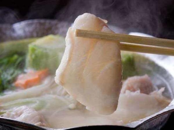 紀州本クエの小鍋