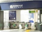 東武伊勢崎線・伊勢崎駅(東武伊勢崎線のりば) ※南口より徒歩約6分