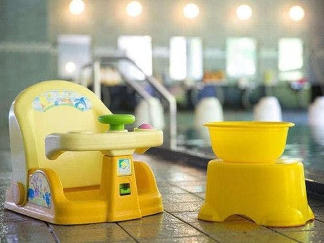 【玄海さつき温泉】お子様用の椅子もご用意しております。