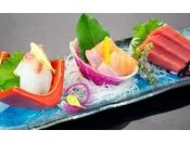 鮪や田沢湖産虹鱒など季節のお魚をご賞味ください。