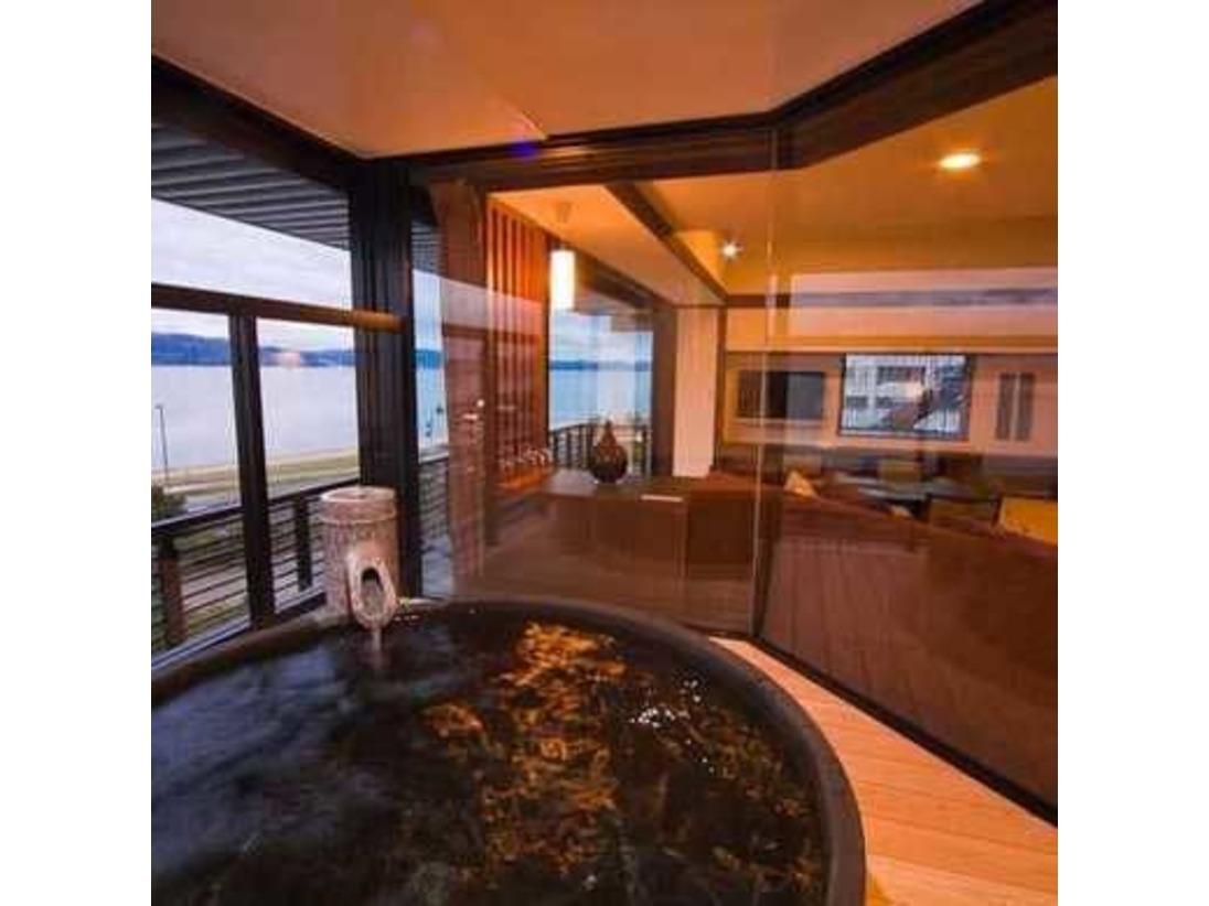 MINAMO和洋室の露天風呂