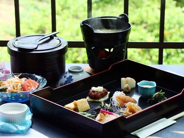 優しい味わいの和朝食をご用意致します