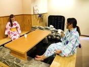 ◆足湯◆館内には足湯コーナーも♪お喋りしながらリラックスTime☆
