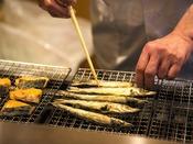 【ご朝食】香ばしい香りが食欲をそそる♪料理長厳選の旬魚をぜひ!