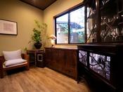 ■御宿 田 離宮 / レストラン入り口■ 全7室のプライベートリゾート。お食事は個室でごゆっくり。