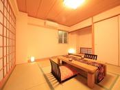 全室ゆったりとした和室がございます。
