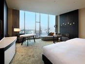 14階のスイートルーム熊本城を眺めながらごゆっくりお過ごし頂く事が出来ます。