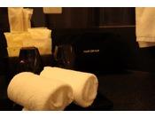 アメニティ・ハンドタオルをご利用人数分ご準備させて頂きます